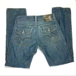 Levi's Black Label 514 Slim Straight Jeans W31 L32